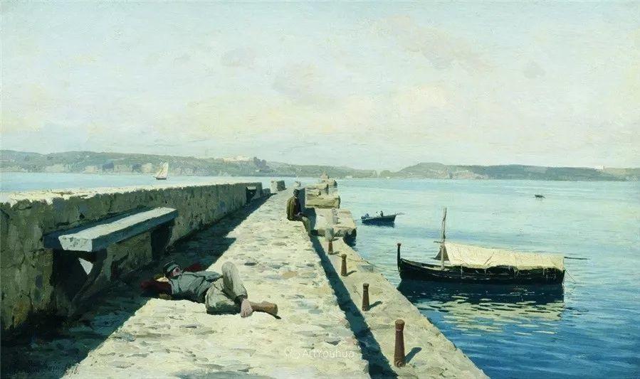 写实风景,乌克兰画家Vladimir Donatovich Orlovsky作品二插图27