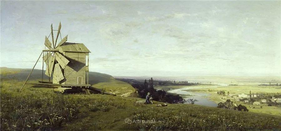 写实风景,乌克兰画家Vladimir Donatovich Orlovsky作品二插图15