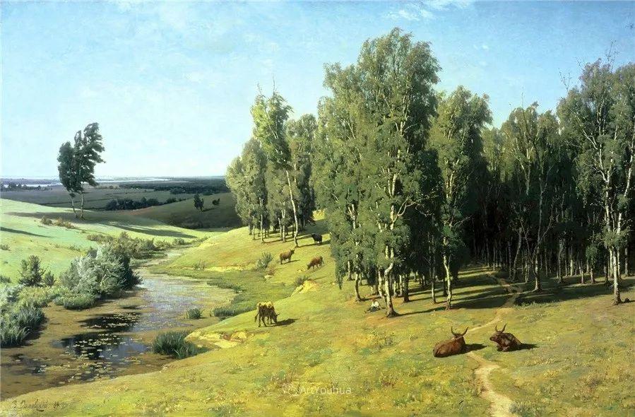 写实风景,乌克兰画家Vladimir Donatovich Orlovsky作品二插图35