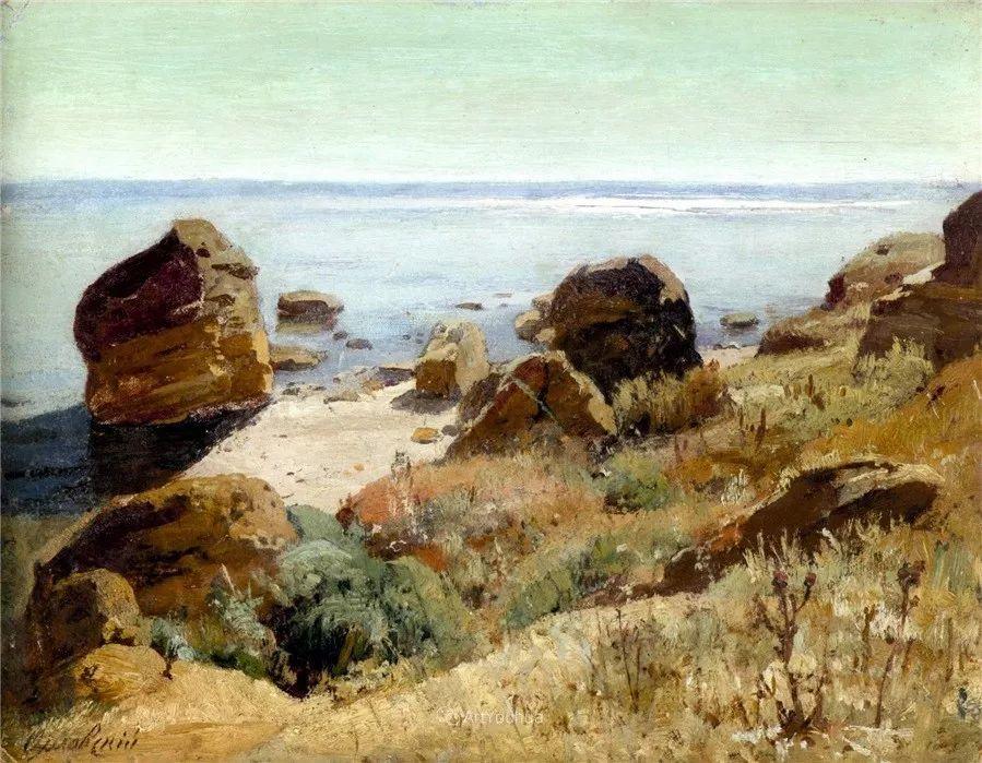 写实风景,乌克兰画家Vladimir Donatovich Orlovsky作品二插图41
