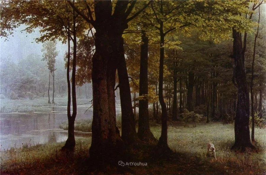 写实风景,乌克兰画家Vladimir Donatovich Orlovsky作品二插图43