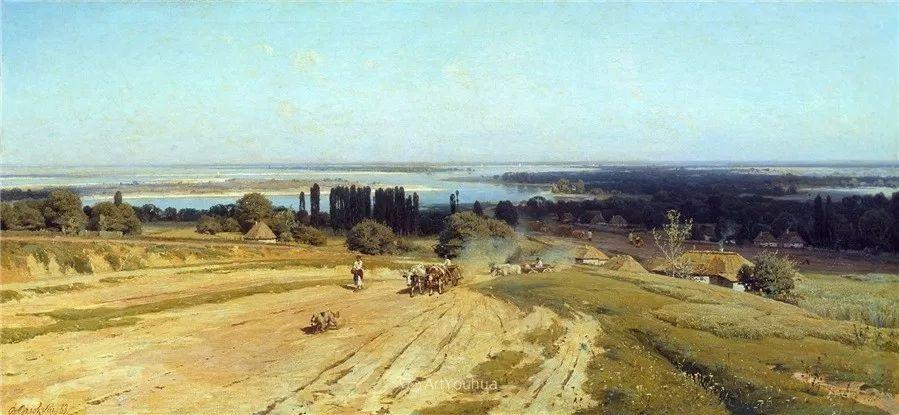 写实风景,乌克兰画家Vladimir Donatovich Orlovsky作品二插图45