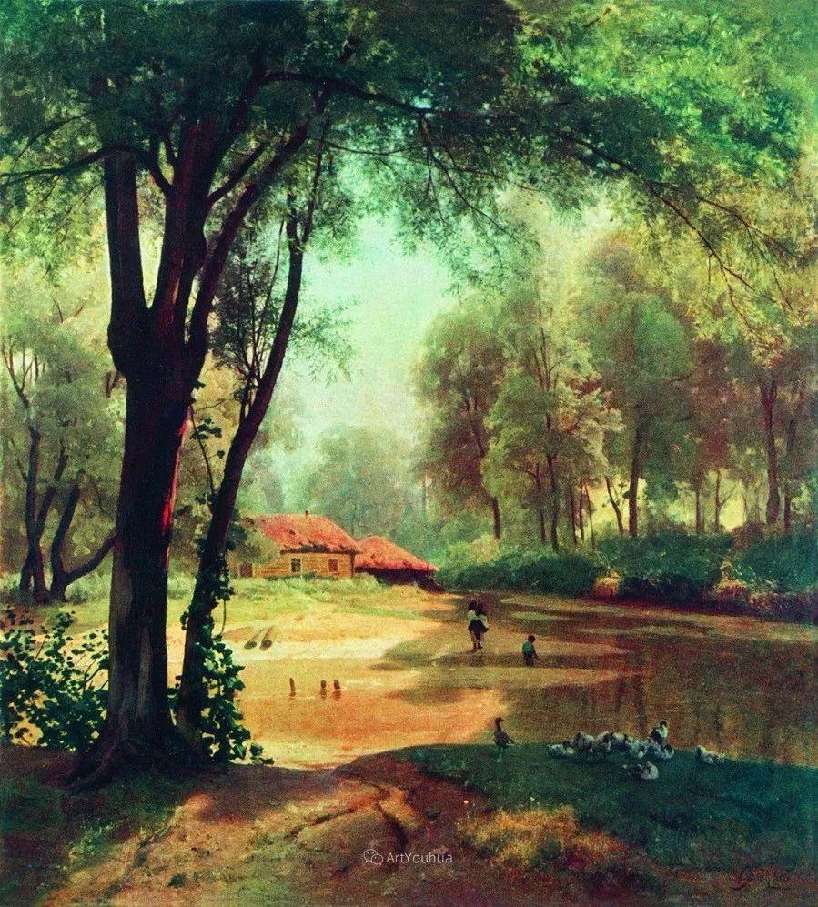 写实风景,乌克兰画家Vladimir Donatovich Orlovsky作品二插图53