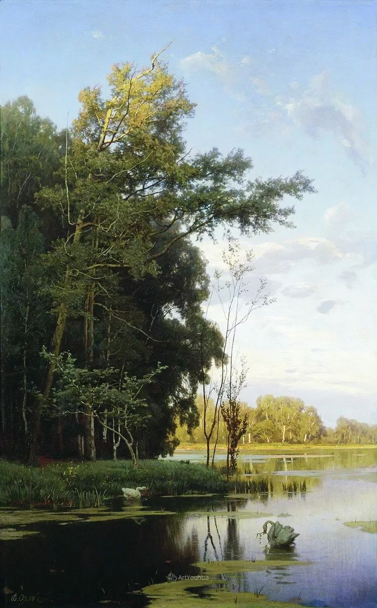 写实风景,乌克兰画家Vladimir Donatovich Orlovsky作品二插图29