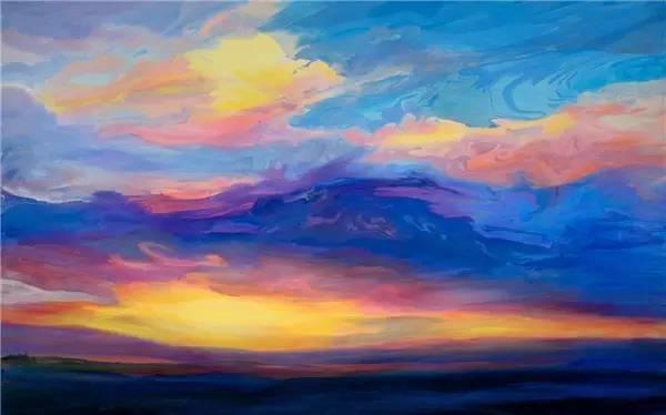 多彩的天空,新西兰女画家Carla Hananiah插图3