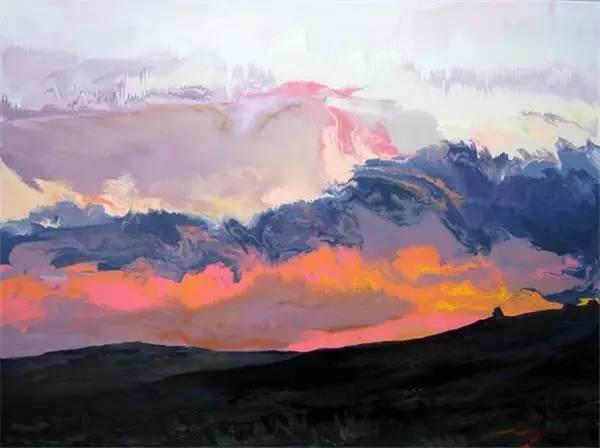 多彩的天空,新西兰女画家Carla Hananiah插图5