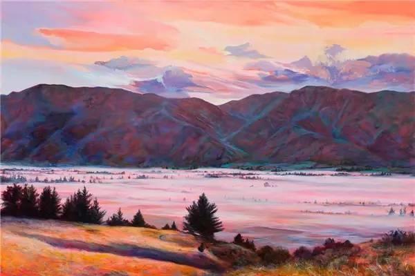 多彩的天空,新西兰女画家Carla Hananiah插图7