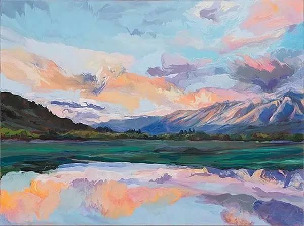 多彩的天空,新西兰女画家Carla Hananiah插图9