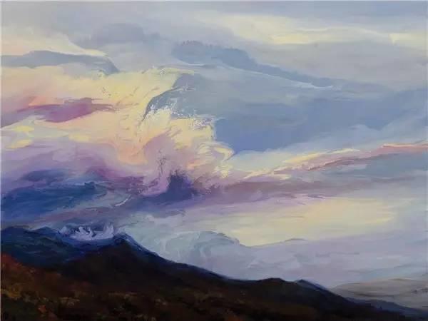 多彩的天空,新西兰女画家Carla Hananiah插图14