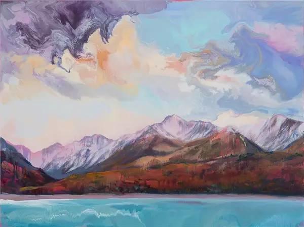 多彩的天空,新西兰女画家Carla Hananiah插图18