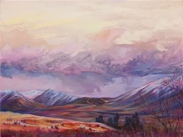 多彩的天空,新西兰女画家Carla Hananiah插图20
