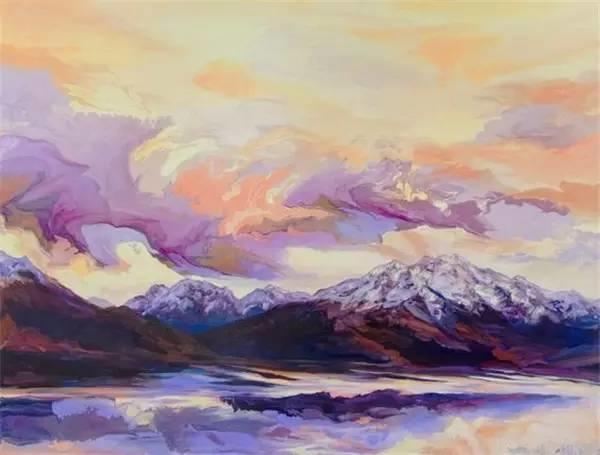 多彩的天空,新西兰女画家Carla Hananiah插图24