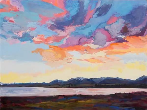 多彩的天空,新西兰女画家Carla Hananiah插图26