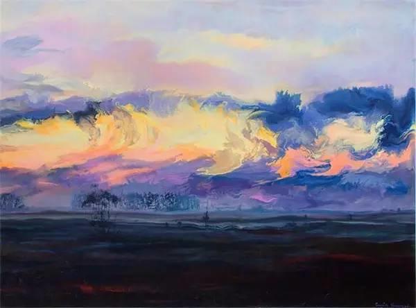 多彩的天空,新西兰女画家Carla Hananiah插图28
