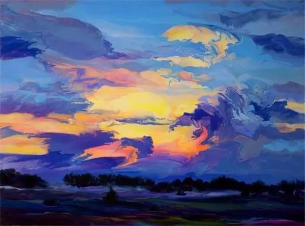 多彩的天空,新西兰女画家Carla Hananiah插图30
