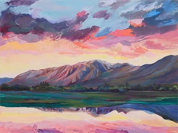 多彩的天空,新西兰女画家Carla Hananiah插图32