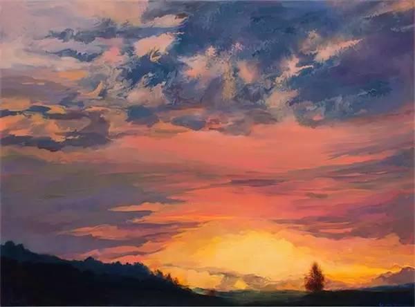 多彩的天空,新西兰女画家Carla Hananiah插图36