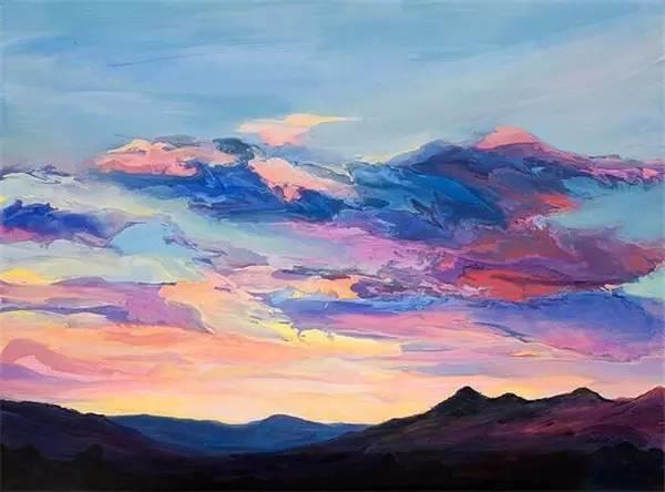 多彩的天空,新西兰女画家Carla Hananiah插图38