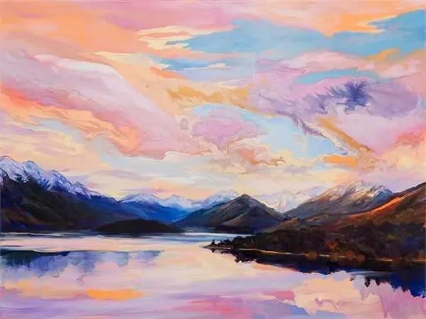 多彩的天空,新西兰女画家Carla Hananiah插图42