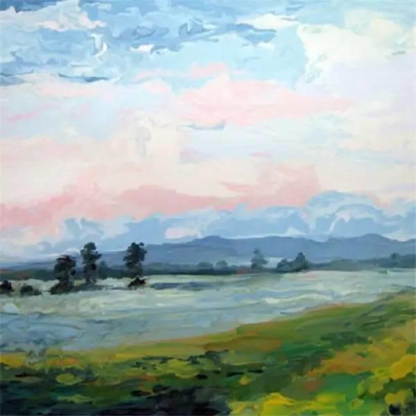 多彩的天空,新西兰女画家Carla Hananiah插图44