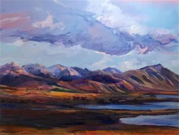 多彩的天空,新西兰女画家Carla Hananiah插图46