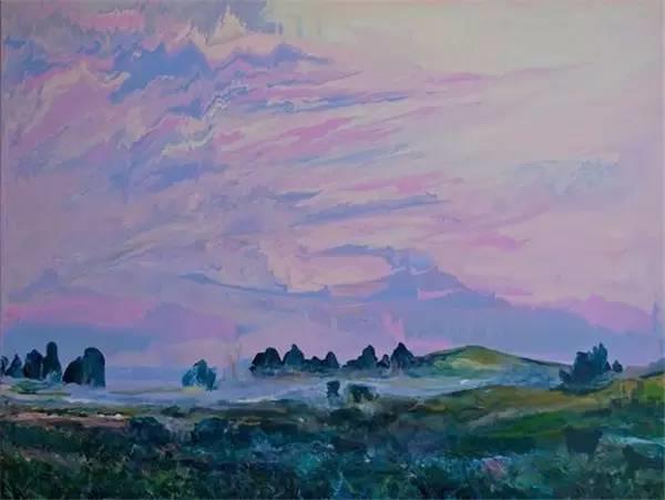 多彩的天空,新西兰女画家Carla Hananiah插图48
