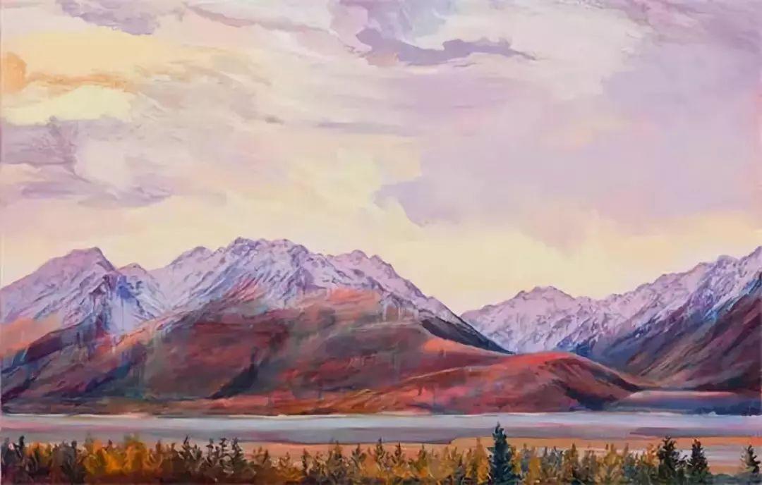 多彩的天空,新西兰女画家Carla Hananiah插图49