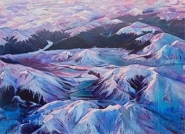 多彩的天空,新西兰女画家Carla Hananiah插图52