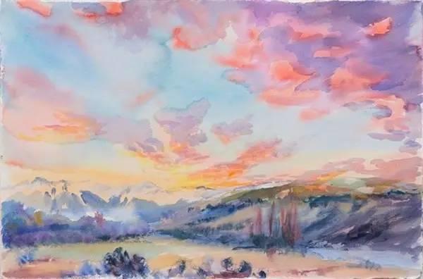 多彩的天空,新西兰女画家Carla Hananiah插图54