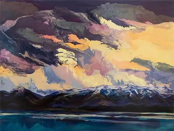 多彩的天空,新西兰女画家Carla Hananiah插图56