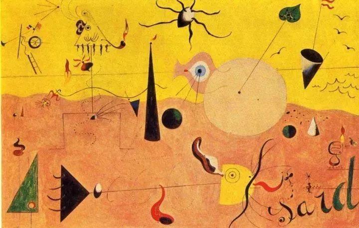 超现实主义领袖人物,与毕加索、达利齐名,一生只像孩子那样画画插图