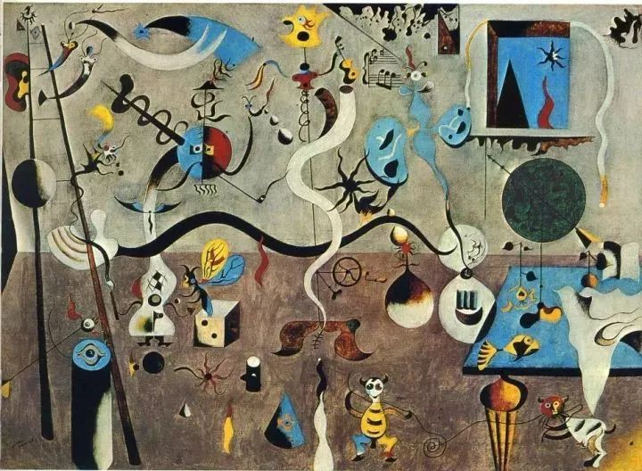 超现实主义领袖人物,与毕加索、达利齐名,一生只像孩子那样画画插图2