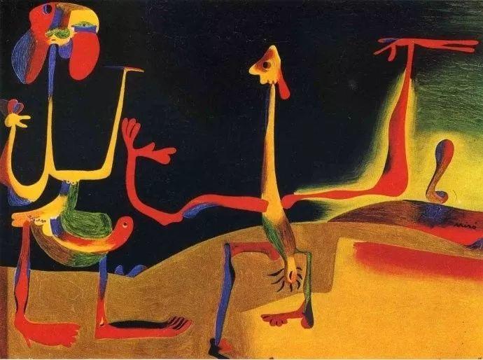 超现实主义领袖人物,与毕加索、达利齐名,一生只像孩子那样画画插图3