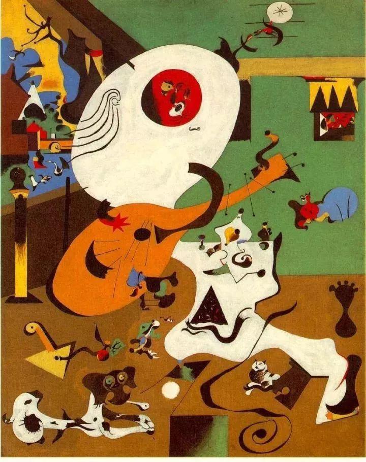 超现实主义领袖人物,与毕加索、达利齐名,一生只像孩子那样画画插图4