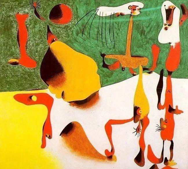 超现实主义领袖人物,与毕加索、达利齐名,一生只像孩子那样画画插图13