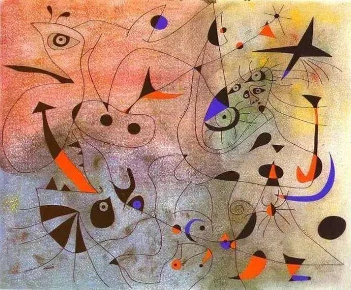 超现实主义领袖人物,与毕加索、达利齐名,一生只像孩子那样画画插图15