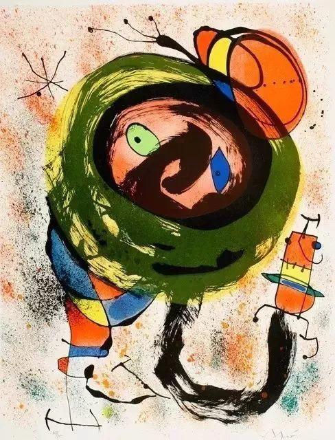 超现实主义领袖人物,与毕加索、达利齐名,一生只像孩子那样画画插图22