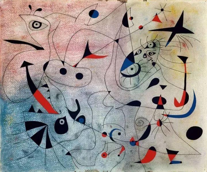 超现实主义领袖人物,与毕加索、达利齐名,一生只像孩子那样画画插图30