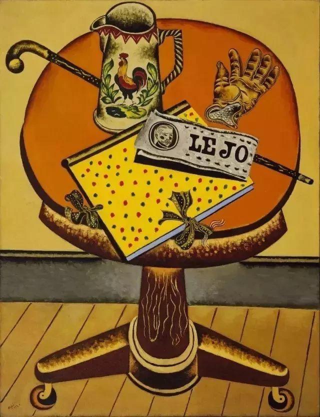 超现实主义领袖人物,与毕加索、达利齐名,一生只像孩子那样画画插图34
