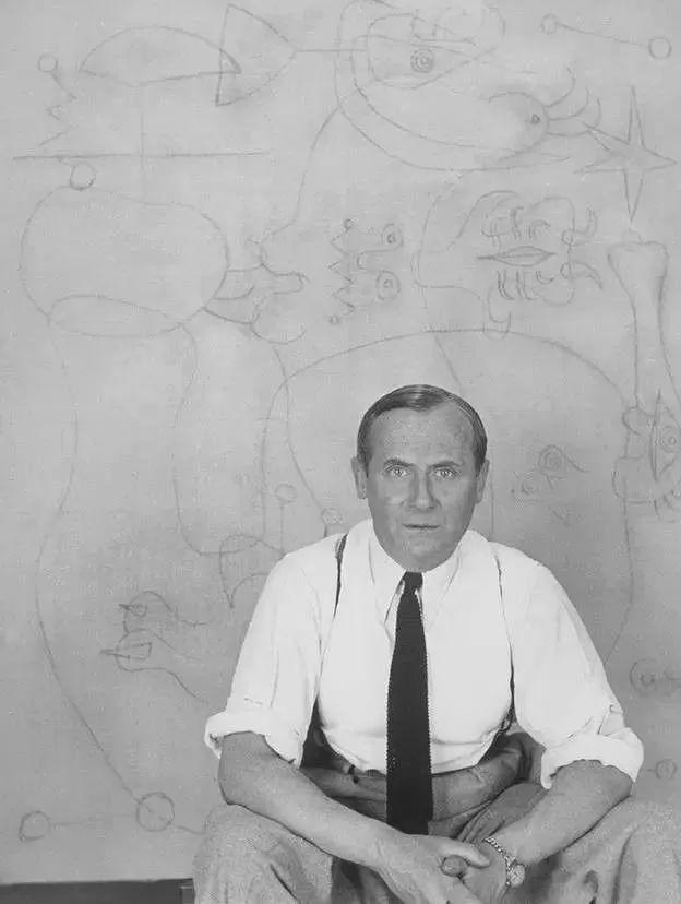 超现实主义领袖人物,与毕加索、达利齐名,一生只像孩子那样画画插图52
