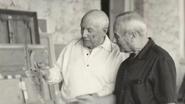 超现实主义领袖人物,与毕加索、达利齐名,一生只像孩子那样画画插图55