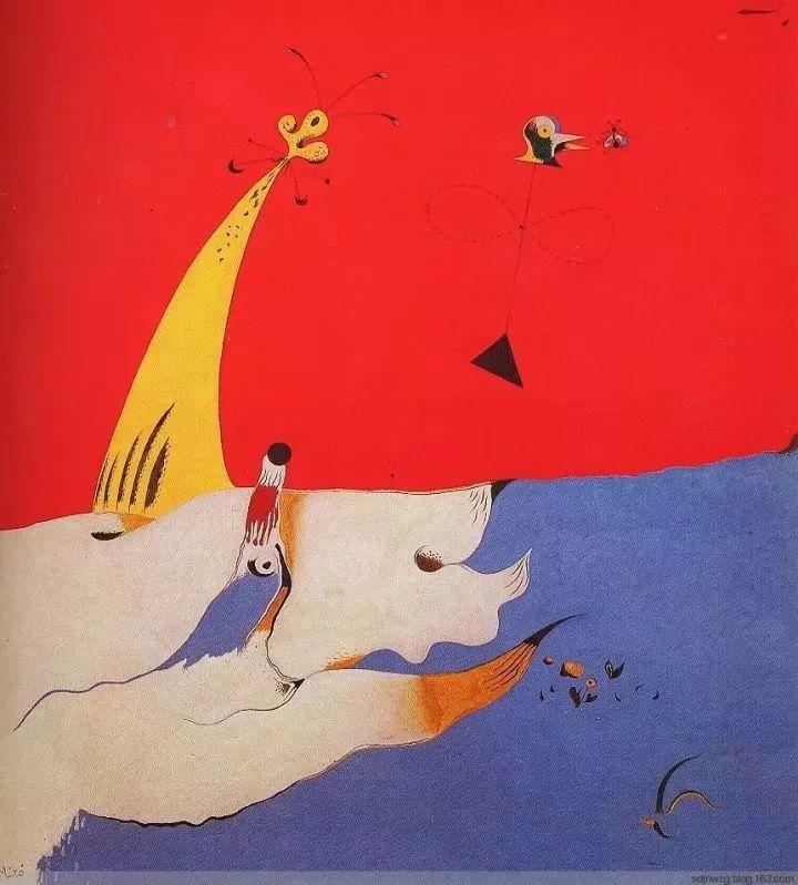 超现实主义领袖人物,与毕加索、达利齐名,一生只像孩子那样画画插图57