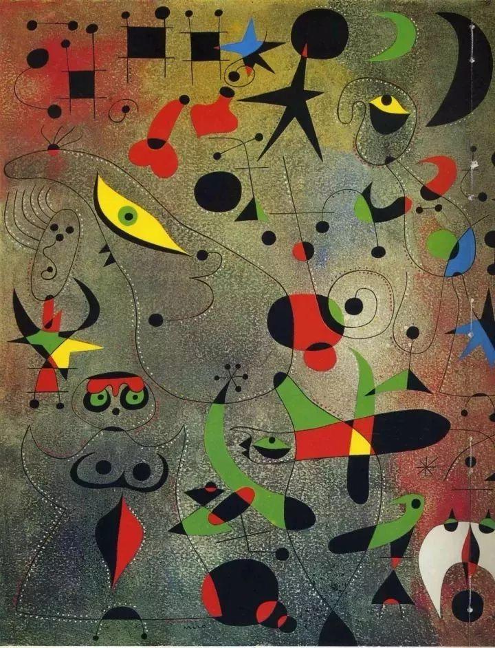 超现实主义领袖人物,与毕加索、达利齐名,一生只像孩子那样画画插图59