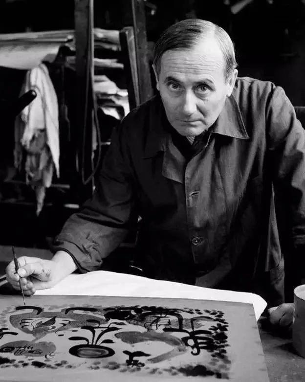 超现实主义领袖人物,与毕加索、达利齐名,一生只像孩子那样画画插图61