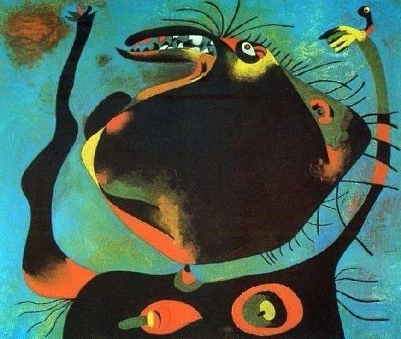 超现实主义领袖人物,与毕加索、达利齐名,一生只像孩子那样画画插图69