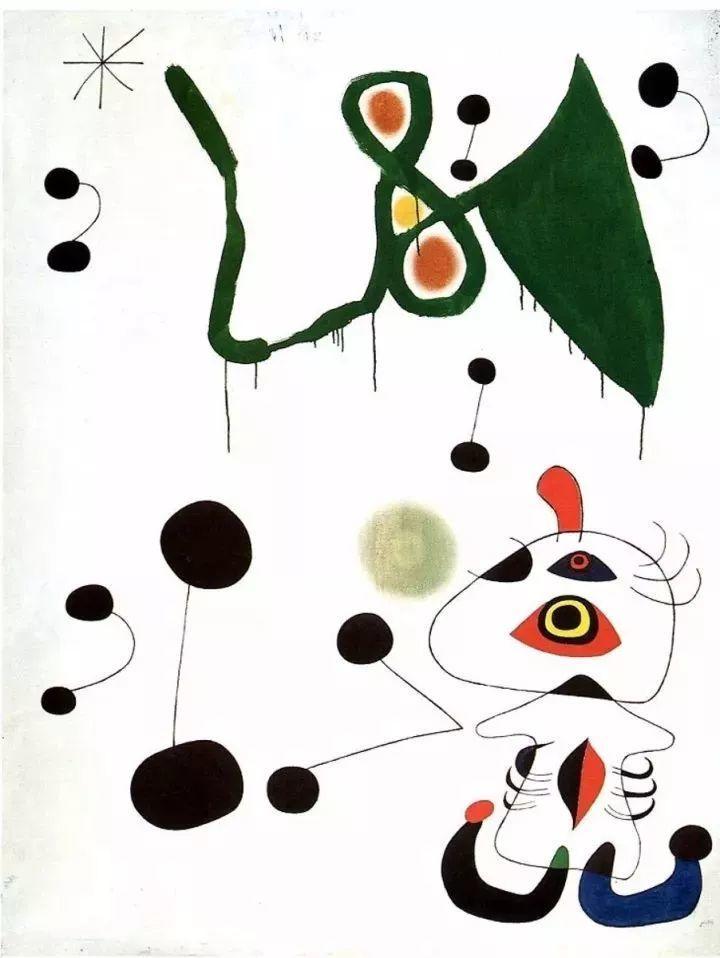 超现实主义领袖人物,与毕加索、达利齐名,一生只像孩子那样画画插图70