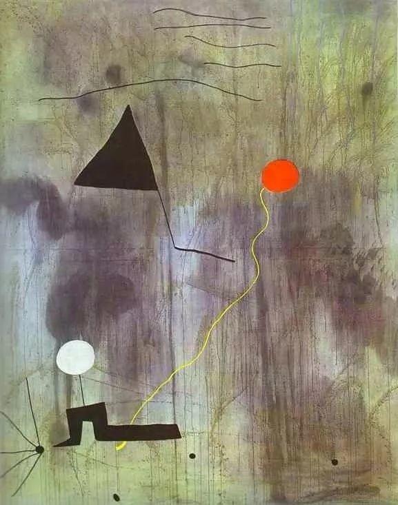 超现实主义领袖人物,与毕加索、达利齐名,一生只像孩子那样画画插图71