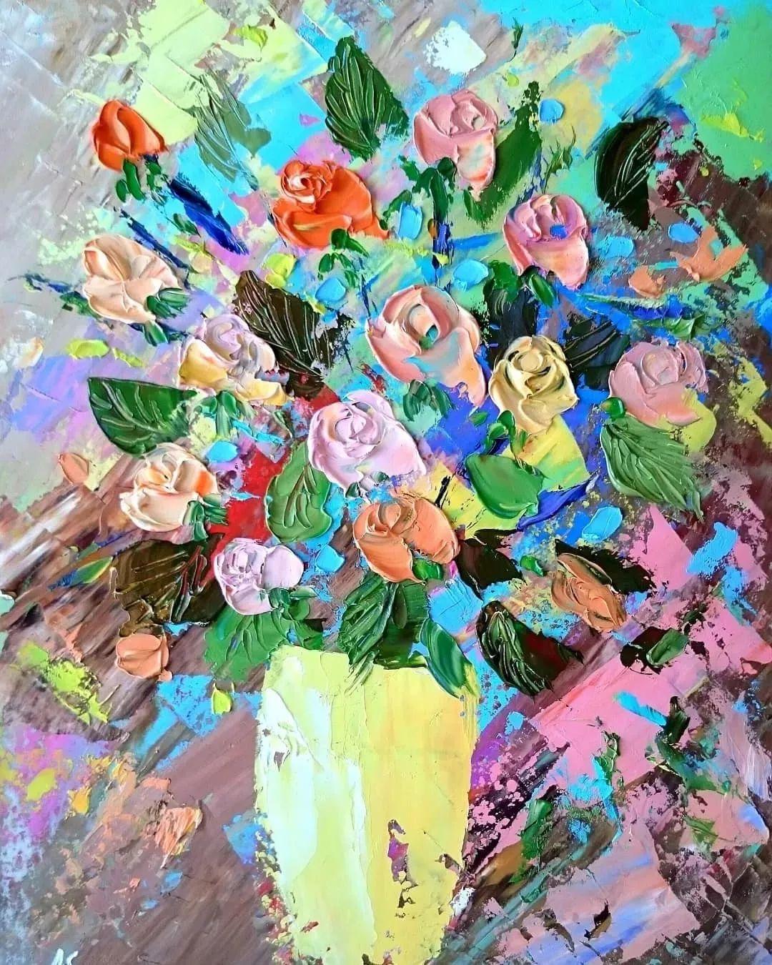 笔触大胆,用色干净利落,爱沙尼亚女画家Alena Shymchonak插图3