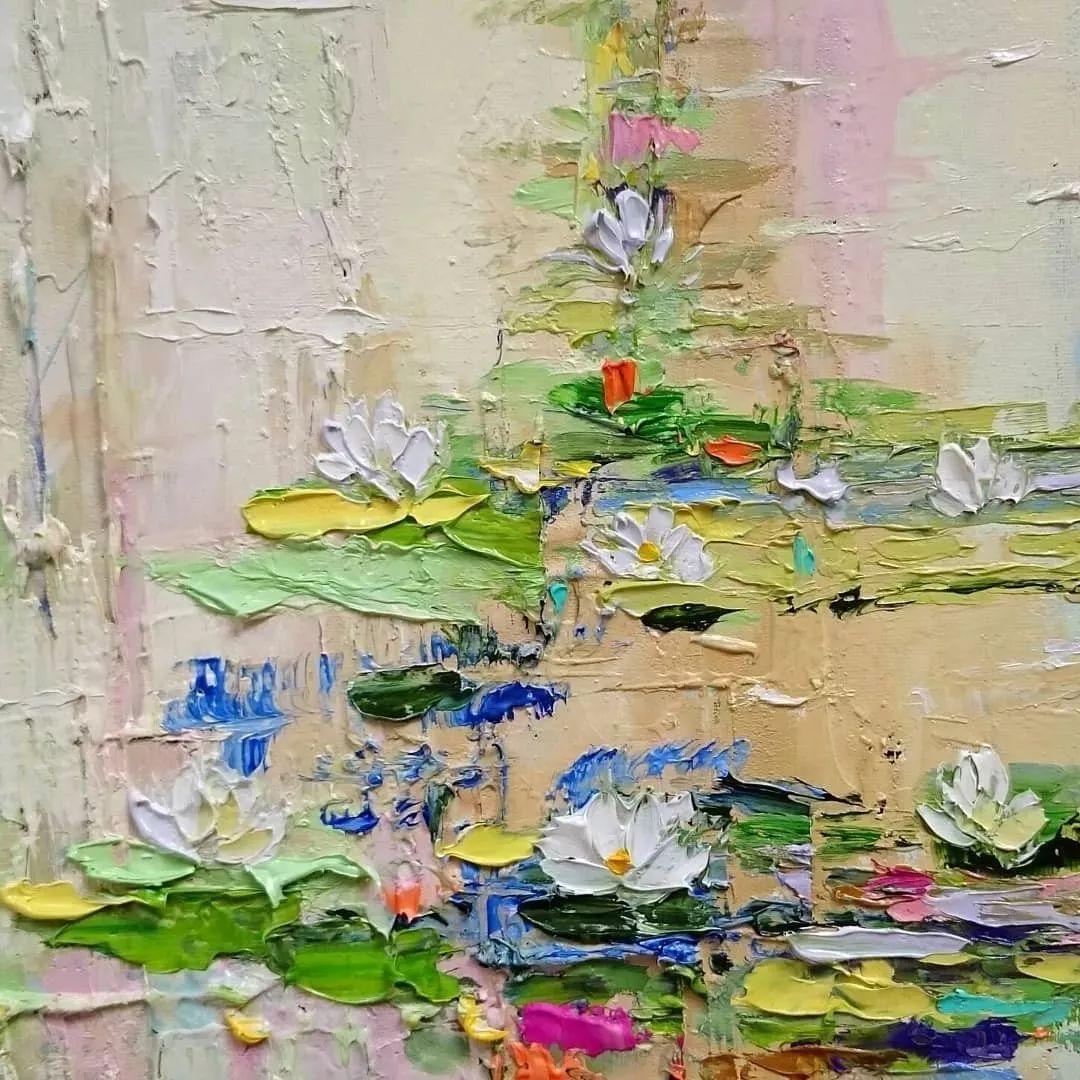 笔触大胆,用色干净利落,爱沙尼亚女画家Alena Shymchonak插图7