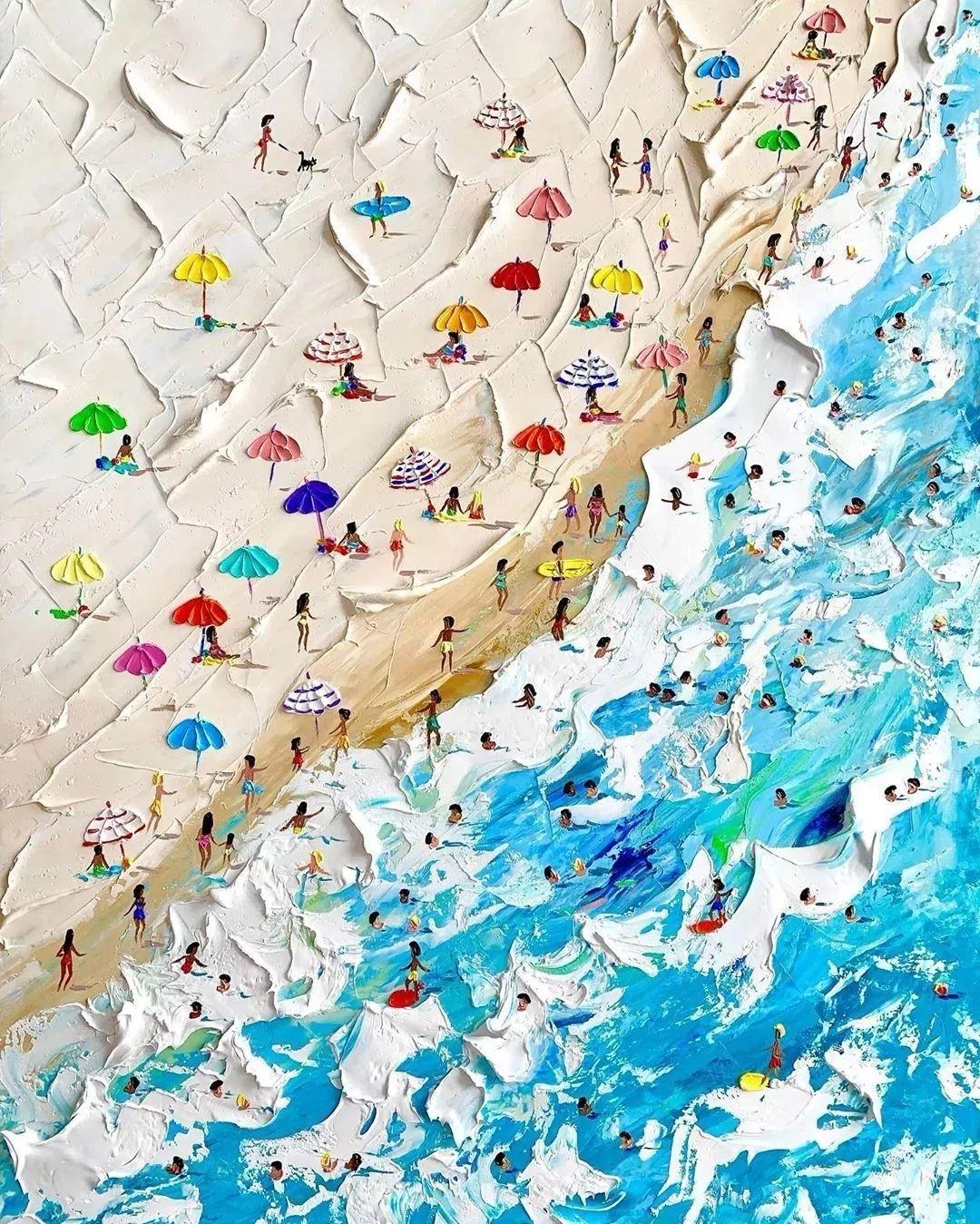 笔触大胆,用色干净利落,爱沙尼亚女画家Alena Shymchonak插图36